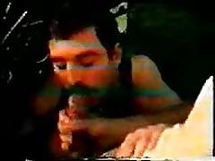 vintage VHS cum spray and cock sucking
