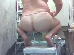 Joey D nice anal shows curvy pale boy butt