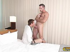 Alex gets anal fucked by Connor big throbbing dick