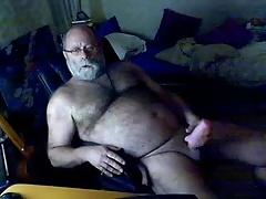 Old Man cumming 2