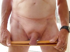 CBT Hard  Bondage cock