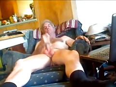 Older men masturbating