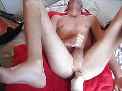 Sexy guy sucks and gets fisted