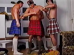 Four Hot Males