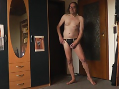 sexy string schwarzgold