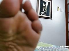 Asian Twink Mikal Foot Fetish Jack Off