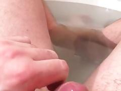 Cum in bath