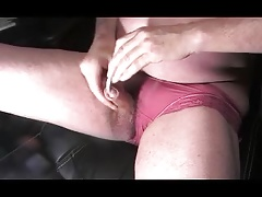 sissy ladyboy urethral sounding gay dildo toy pantie cock