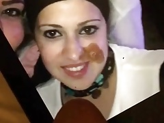 Cum on beautiful Rana g