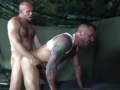 In the Army flip fuck