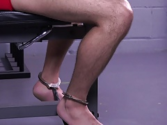 Muscle Ian Greene Workout BDSM Gay Bondage Whipping Slave