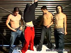 Garage Piss Orgy For Justin