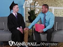 ManRoyale After Graduation fuck with teacher for Kyler Ash