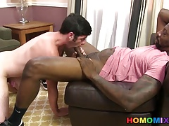 Chase Young Gets Tricked Into Taking A Black Cock