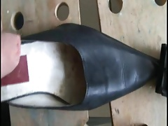 Friend old leather mules