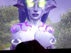 Meowing Demon hunter tribute