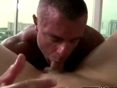Homo straight guy blowjob and ass get down and dirty