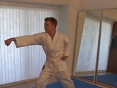 Hot Karate Lesson