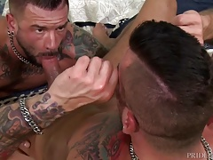 MenOver30 Cock Hungry Hugh Hunter Moans for Dick