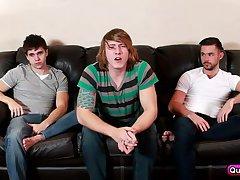Simple Binge Watching Became Threesome