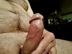 Dick jacking in kitchen