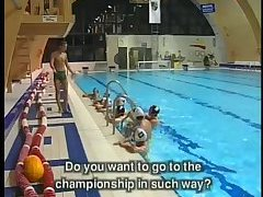Gays at the swimming pool