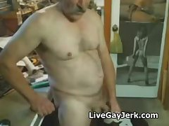 Daddies cuming and shooting their loads hairy bear mature