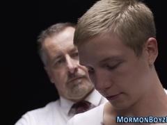 Bishop spanks mormons ass