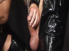 Brutal top & submissive bottom