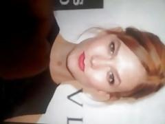 Karlie Kloss Facial Cum Tribute