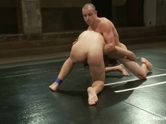 Chris Tyler gives a rimjob and gets fucked on tatami