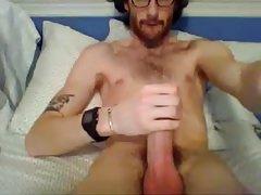 Cute Str8 Redhead cums on cam #24