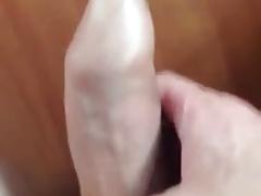 Long tight foreskin spiling cum