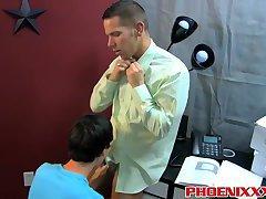 Noah Carlisle gets a hard pounding from his hot teacher