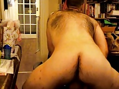 Dirty daddy bear likes to smell