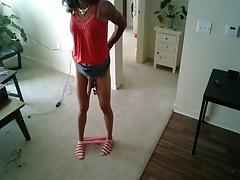 Sexy Tranny Striptease