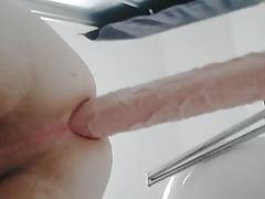 Twink fuck huge Rambone 41x6.5 cm