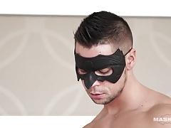 Maskurbate Extracting Hard Body Ennio's Sperm Sample