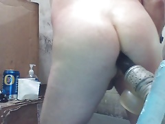 Joey D quickie with cute butt nice anal angle
