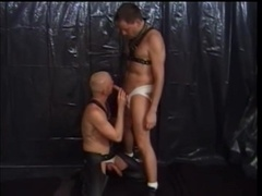 Pierced queer gets his butt fucked hard after sucking a cock
