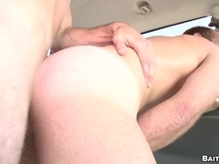 A poofter enjoys riding his buddy's dick in a hot reality sex video