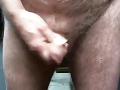a handful of mature cum