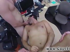 Straight guy heads gay for money