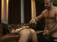 Spencer Reed beats Tony Hunter before pounding his tight ass