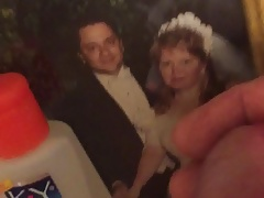 Cum tribute neighbor's wedding pic