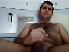 Sexy turkish bear stroking