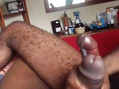 Black Guys Stroking