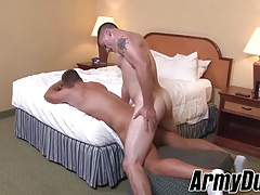 Big dick Princeton and Craig hammering hard and barebacking