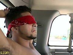 Straight stud gets sucked
