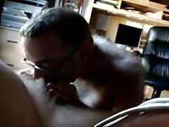 Older men sucking another men